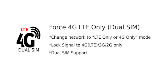 Force 4G LTE Only (Dual SIM) 1 0 (Android) - Download APK
