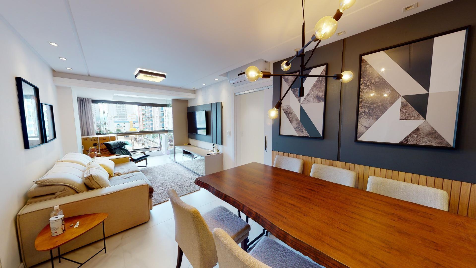 Apartamento no Edifício Atlântico Shopping Center com 3 dormitórios à venda por R$ 1.550.000 – Centro – Balneário Camboriú/SC