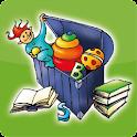 Buch und Spiel Kiste icon