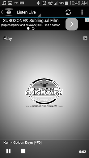 Be Heard Radio 76 FM  screenshots 1