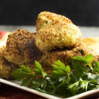 Leftover Turkey and Stuffing Croquettes