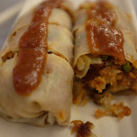 Popiah - Chinese Rolls by Beh Heng Long - Food & Drink Plated Food ( malaysian food )
