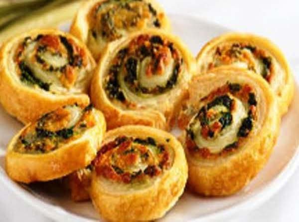 Spinach Cheese Swirls Plus Recipe