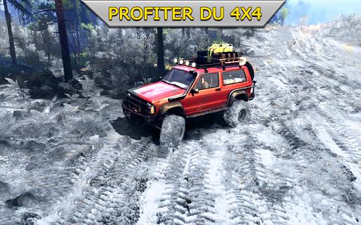 Code Triche hors route xtreme 4X4 se rallier courses chauffeur APK MOD screenshots 1