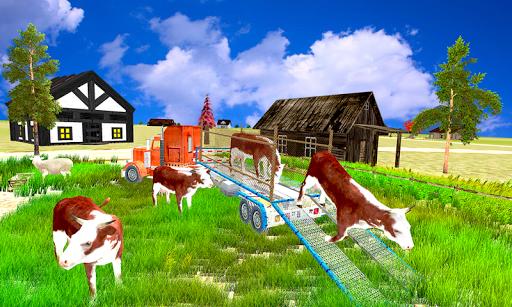 輸送トラック:家畜