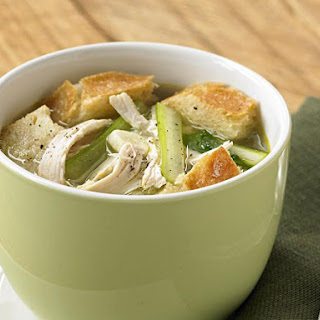 Chicken, Celery and Bread Soup.