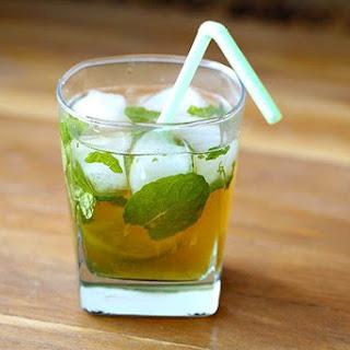 Maple Whiskey Mojito (The Sortilege Mojito).
