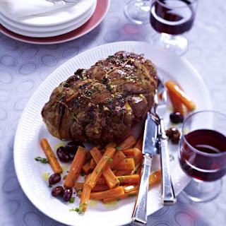 Cognac and Lemon Braised Lamb with Sweet Carrots
