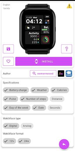 Amazfit GTS - WatchFaces für Amazfit GTS-Screenshots 3