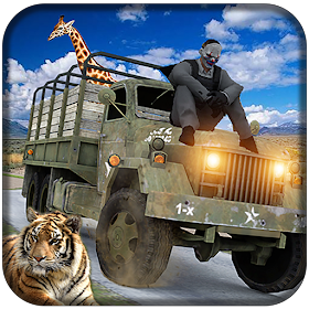 Offroad Animal Farm:Cargo Truck Driving Games 2019