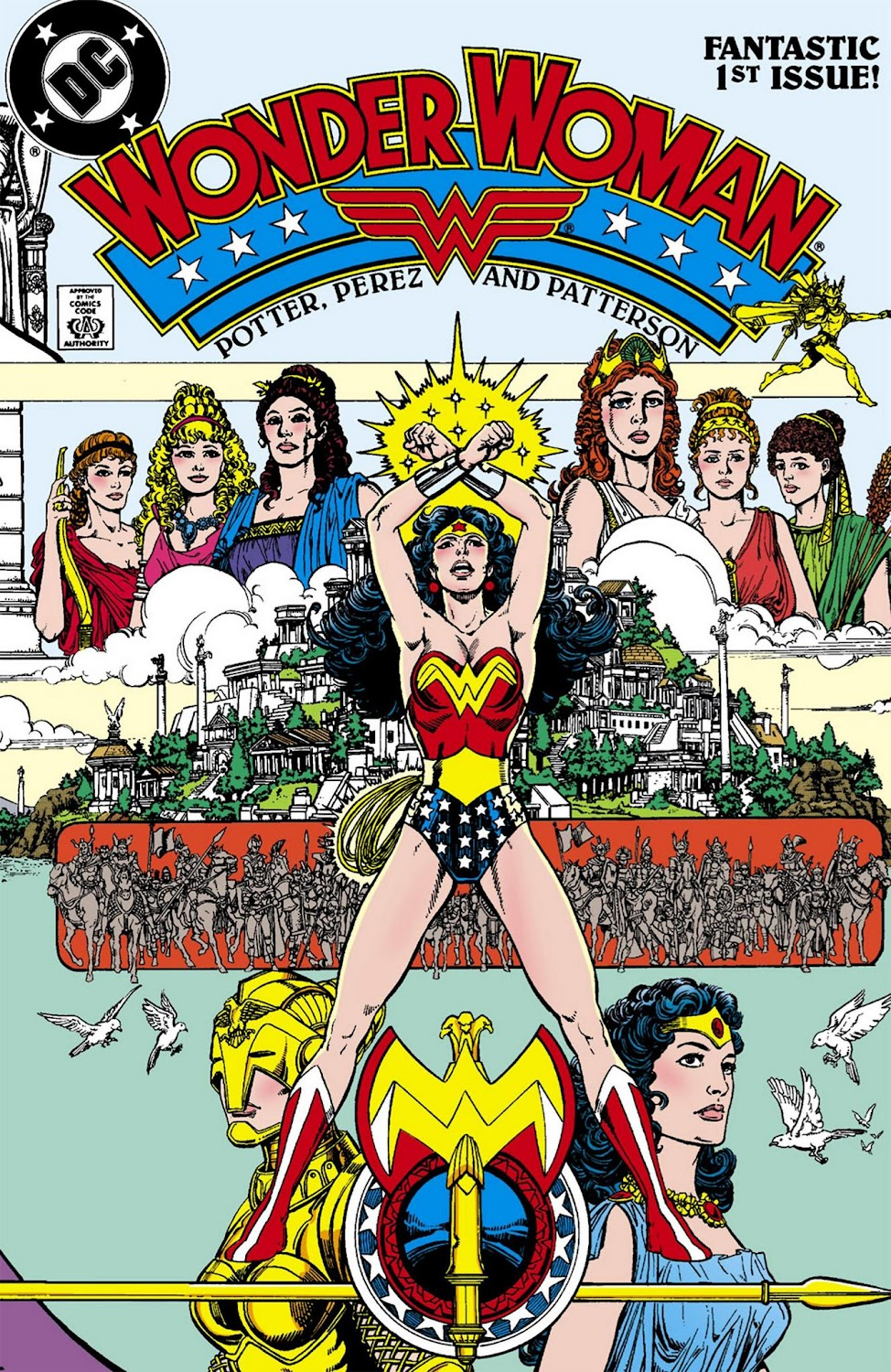 Wonder Woman (1987) - complete