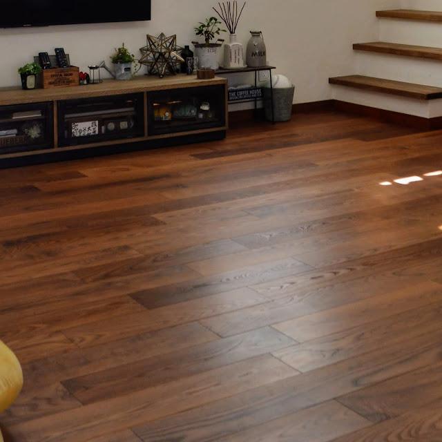 新築床暖対応のオーク材フローリング