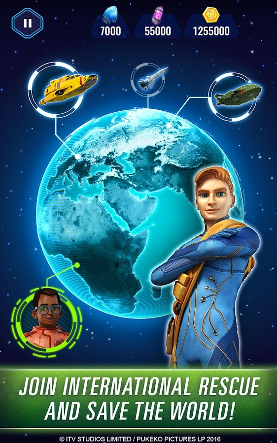Thunderbirds Are Go: Team Rush- screenshot