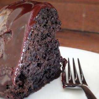 Guinness Fudge Bundt Cake with Guinness Ganache Recipe