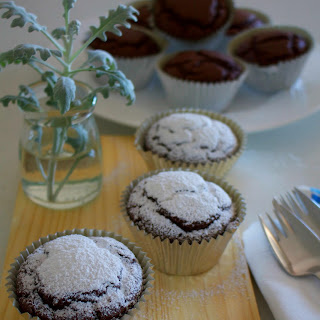 Vegan Chocolate And Coconut Cupcakes.