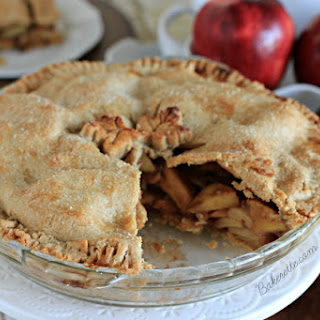 Homemade Apple Pie Recipe with Chai Spices