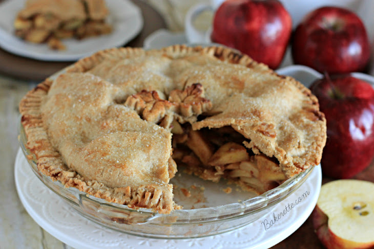 Homemade Apple Pie Recipe with Chai Spices Recept | Yummly