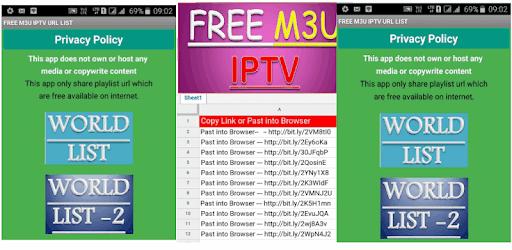 FREE M3U IPTV URL LIST - Apps on Google Play
