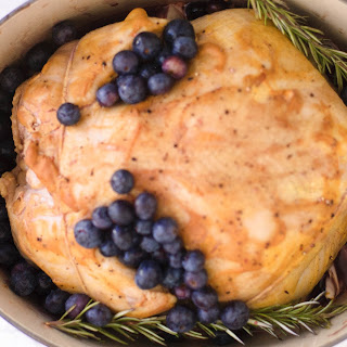 Blueberry & Pinot Noir Roasted Chicken