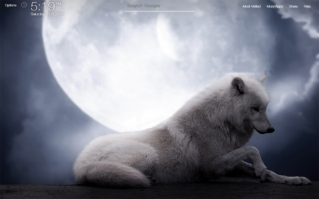 Wolf Wallpapers FullHD New Tab