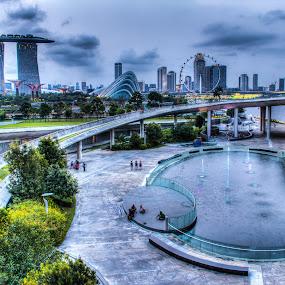 Marina Barrage @ Singapore by Bryan Sin - City,  Street & Park  City Parks