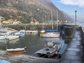 Photo: The harbour in wintertime