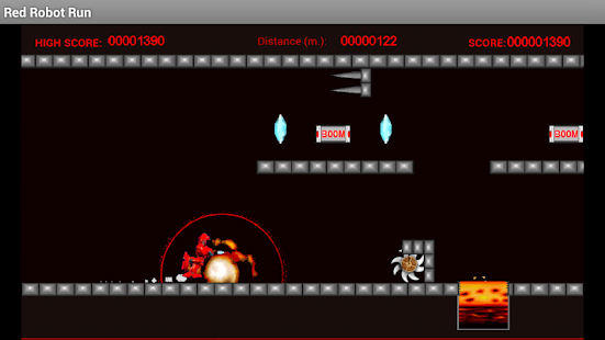 Red Robot Run- screenshot thumbnail