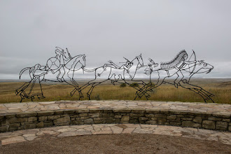 Photo: Indian Monument at the Little Bighorn