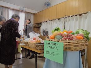 Photo: 収穫感謝祭の授かり物も貢献