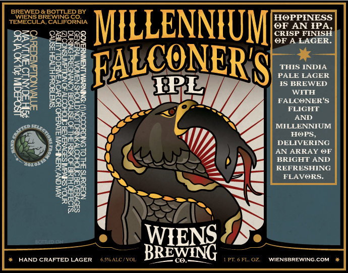 Logo of Wiens Millennium Falconer's