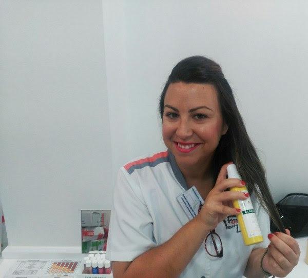nuevo spray aclarador del tono capilar de KLORANE