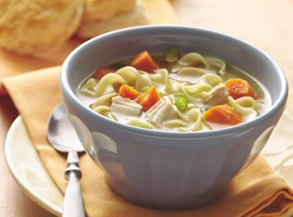 Simple Homemade Chicken Noodle Soup Recipe