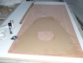 Photo: préparation cloison