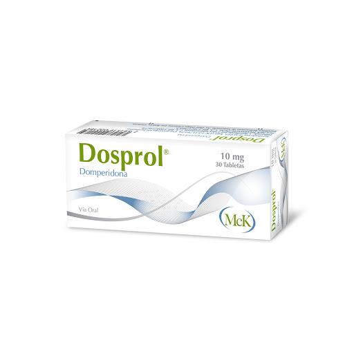 Domperidona Dosprol 10 Mg X 30 Tabletas MCK 10 mg x 30 Tabletas