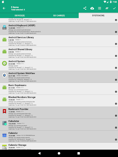 App Backup Lite 2.5 screenshots 9