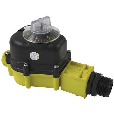 Vattenmätare / Vattentimer 0 - 3.000 liter *