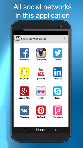 All Social Networks 7.12.15 screenshots 1