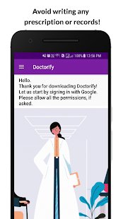 Doctorify: Doctor's voice Assistant Screenshot