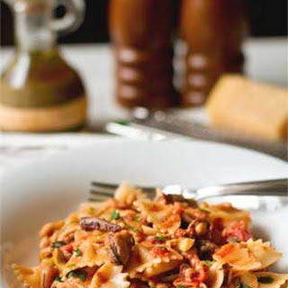 Farfalle with Frozen Seafood
