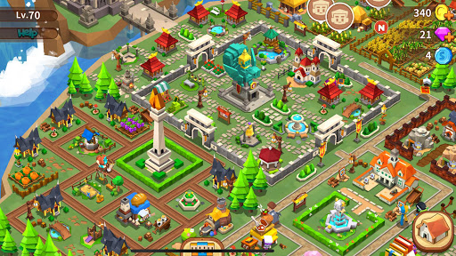 Garena Fantasy Town APK MOD (Astuce) screenshots 6