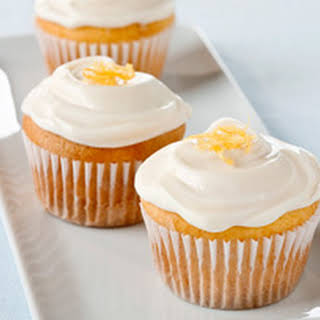 Lemon-Cream Cheese Cupcakes.