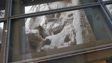Photo: New Acropolis Museum - inside on the 1st floor
