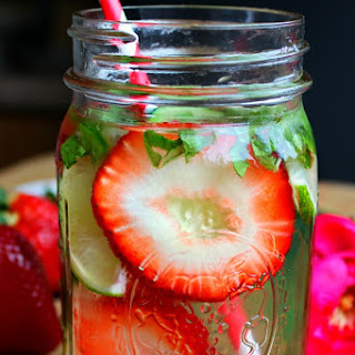 Stress Reducer Detox Water.