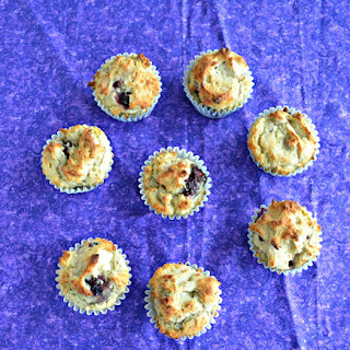 Gluten Free Lemon Blackberry Muffins