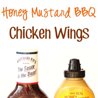 Crockpot Honey Mustard BBQ Wings Recipe!