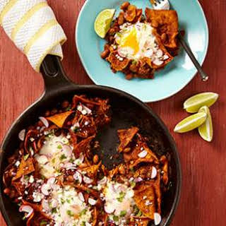 Pinto Bean Chilaquiles.