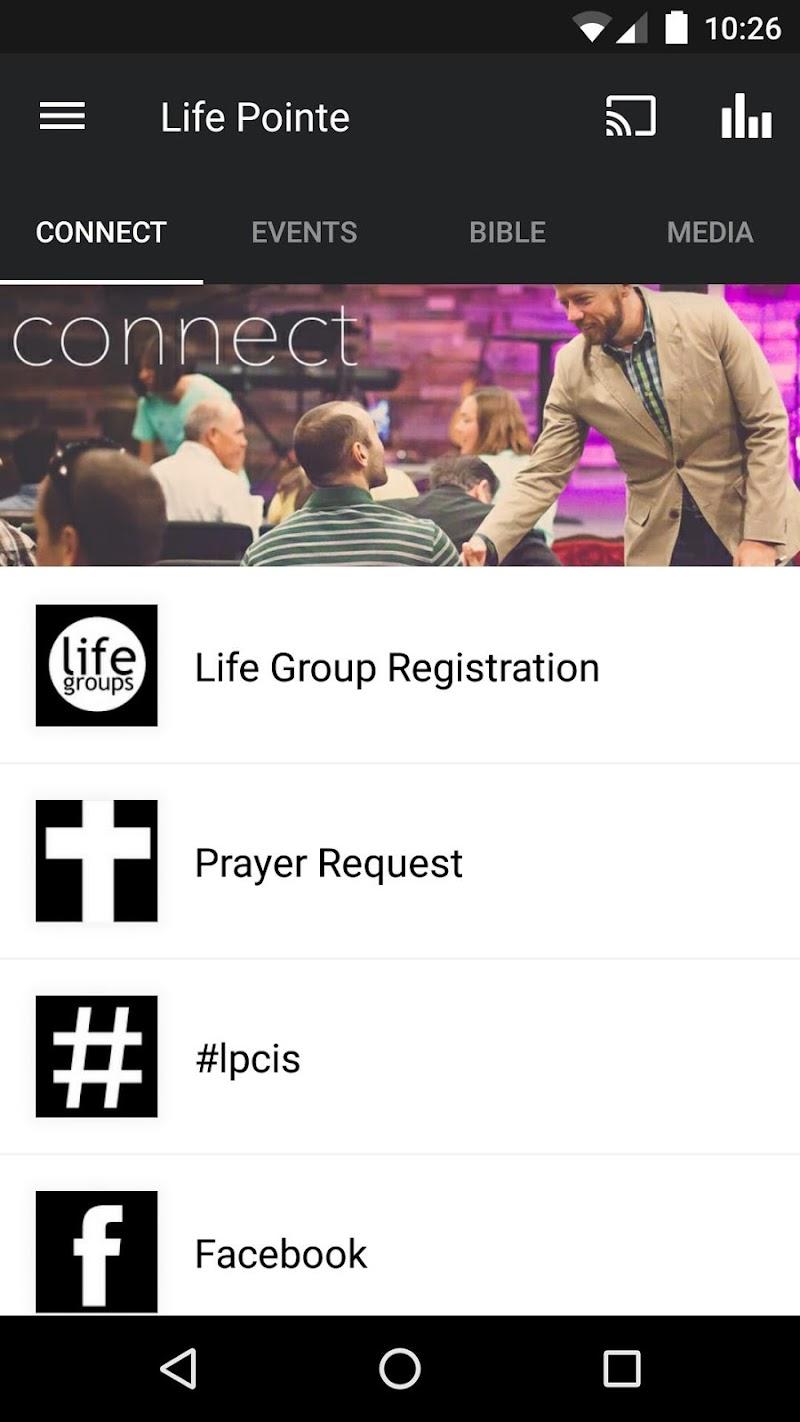Скриншот lpc app