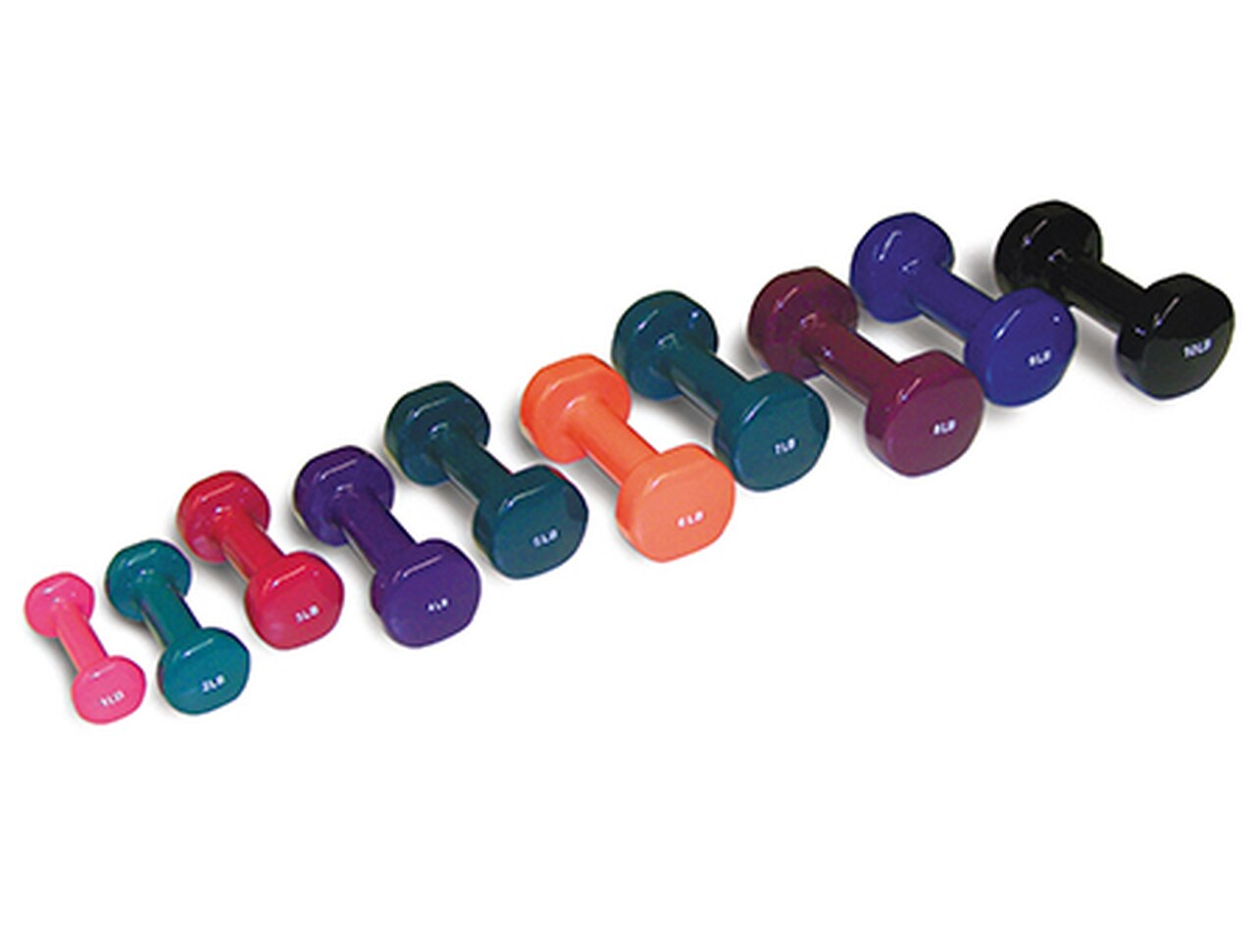 BodyPro Vinyl Dumbbells