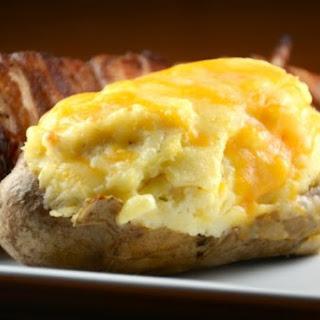 Cheesy Ranch Twice Baked Potato Boats.