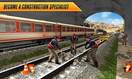 Train Track, Tunnel Railway Construction Game 2018 1.1 screenshots 4